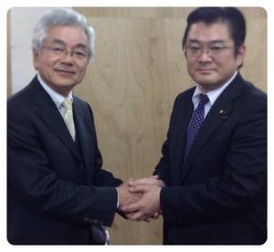 大牟田市長選に挑む中尾まさひろ候補と