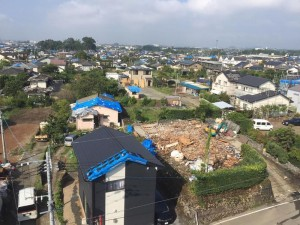 熊本県益城町の被災地を視察